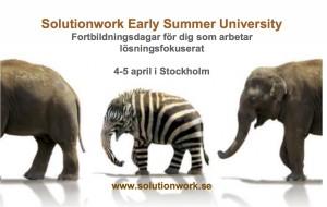 Summer Unviersity 4-5april